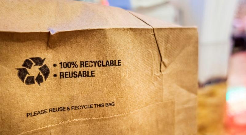 emballage recyclé